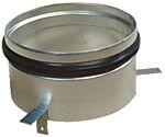 Ventilfeste med pakning Sv 100 mm