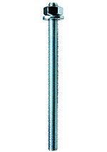 Ankerbolt fis a m 12x160 mm elzinket eske a 10 stk 5.8 m/skive og mutter