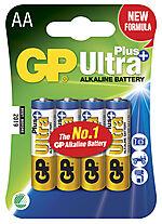 Batteri ultra plus alkalisk AA/LR6 gp 15aup-c4 4 stk