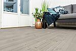 Terrassebord Strix 28x120 mm impregnert møreroyal grå furu
