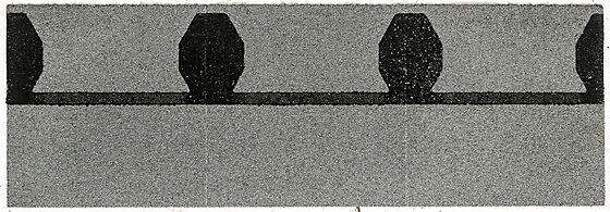 Takfot/møneplate skifergrå