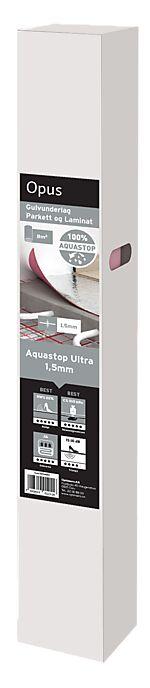 Gulvunderlag Aquastop Ultra 1,5 mm 1x8 m