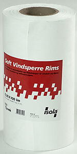 Vindsperre soft rims 0,30x100 m