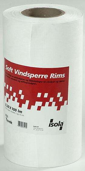 Vindsperre soft rims 0,30x100M
