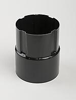 Nedløpsrørskjøt sort 75 mm