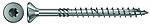 Treskrue innvendig senk 4,0x50 mm FPF-ST elforzinket tx 20 delgjenget 200 stk