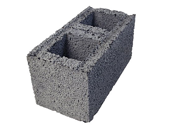 Konstruksjonsblokk 25x25x50 cm