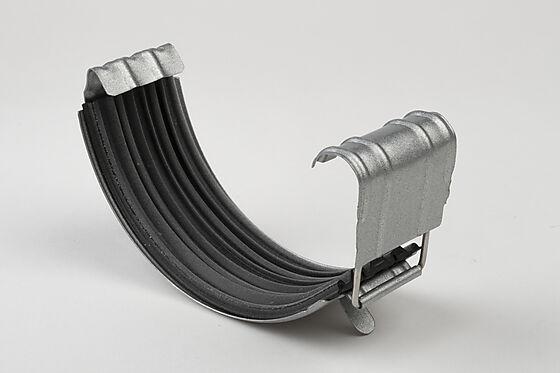 Renneskjøt med pakkning stål 125 mm