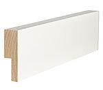 Utforing dørsett hvit furu 18 x 70 x 2100 mm S 0502-Y