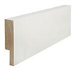 Utforing dørsett hvit furu 18 x 95 x 2100 mm S 0502-Y