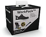 WorkPack CAM80119 str 43 m/ vernesko sokker, fotball og sko