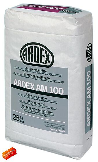 Hurtigpuss betongmørtel ardex am100 25 kg