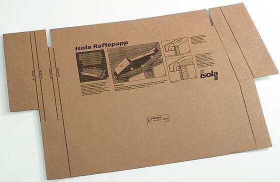 Raftepapp 200 opptil 200 mm isolasjon