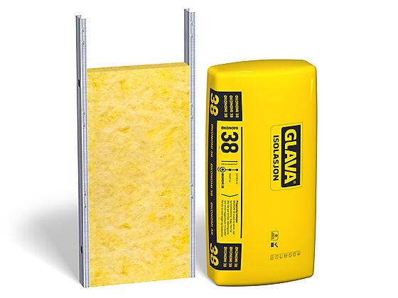 Glava Økonomi 38 stålstenderplate 70x605x1200 mm pakke a 14 stk 10,16 m2/pk