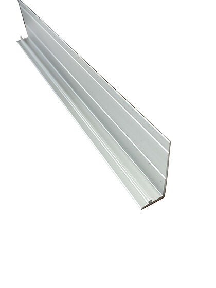 Sokkellist rettkant aluminium 2400 mm
