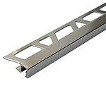Hjørnelist firkant 10 mm polert aluminium 2,7 m squarejolly profilitec