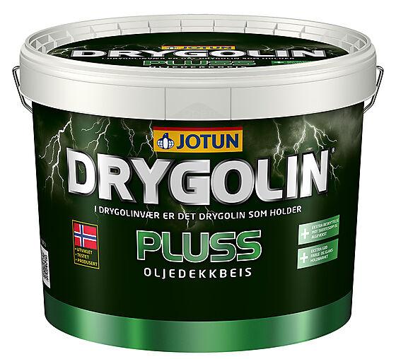Jotun Pluss oljedekkbeis hvit 10 liter