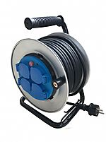 Novipro kabeltrommel 25 meter FK gummi 1,5 mm