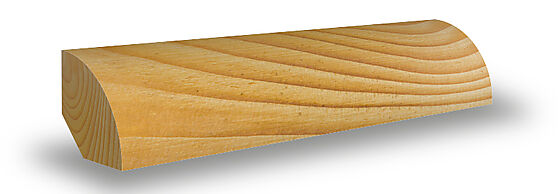 Kvartstafflist 15x15x2700 mm ubehandlet furu