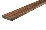 Terrassebord Strix 28x120 mm impregnert møreroyal brun rg.10 furu