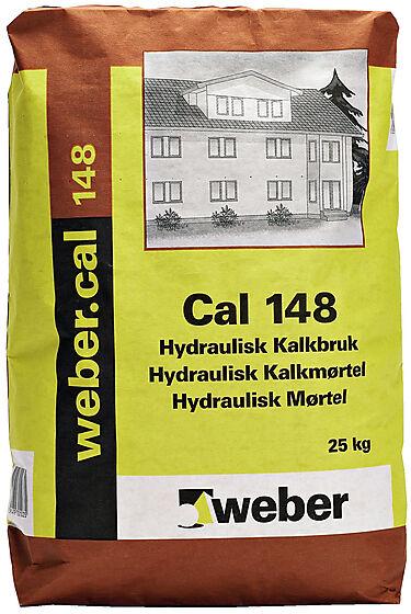 Kalkmørtel hydraulisk cal 148 25 kg