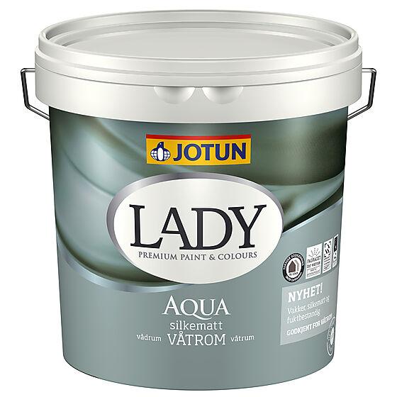 Lady Aqua våtrom hvit 2,7 liter