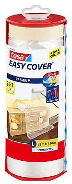 Easy Cover dekkfolie og maskeringstape 33 m x 144 cm