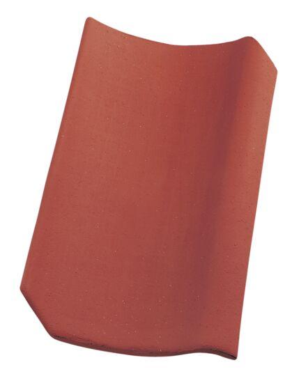Takstein rød normalformat enkelkrum Højslev