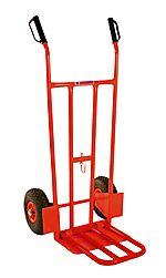 Tralle m/ klaff 200kg lufthjul
