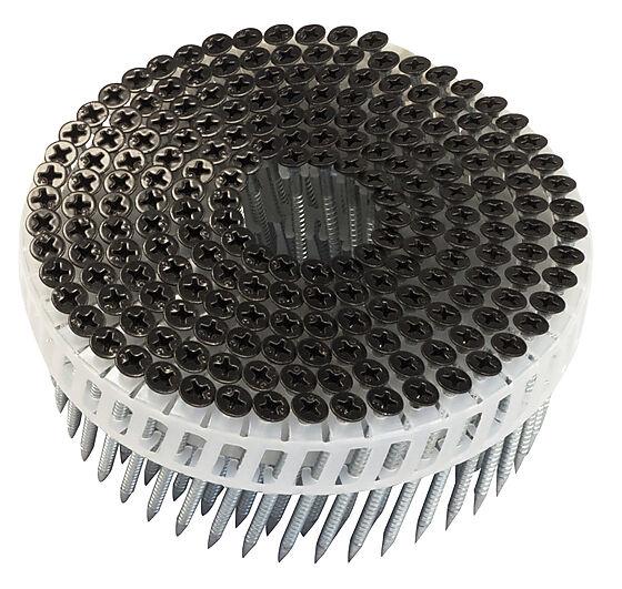 Isola spikerskrue sort 200 stk 2,8x50 mm