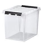 Oppbevaringsboks Classic 11 m/lokk transparent
