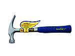 Hammer 16 oz rett klo m/ gummihåndtak