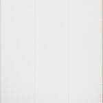 Veggplate i trefiber 3-bord hvit 11x620x2390 mm