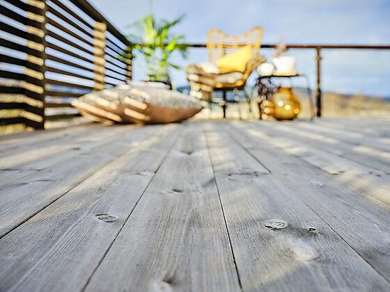 Terrassebord uno concise natur 28x120 mm