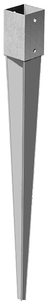 Stolpespyd 50x100x750 mm varmgalvanisert
