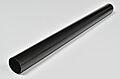 nedløpsrør stål 75mm 3m sort