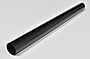 Nedløpsrør stål 75 mm 3 m sort