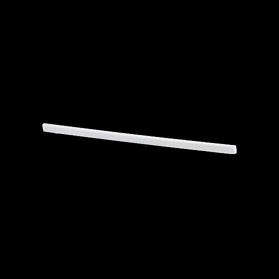 Knektavslutter 42 cm høyre hvit
