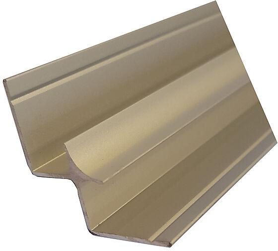 Hjørnelist II innvendig aluminium nat 580 mm