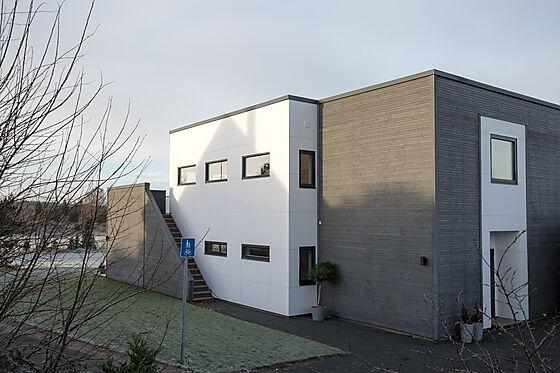 Fasadeplate Colour 1195x2995 mm halvmatt hvit