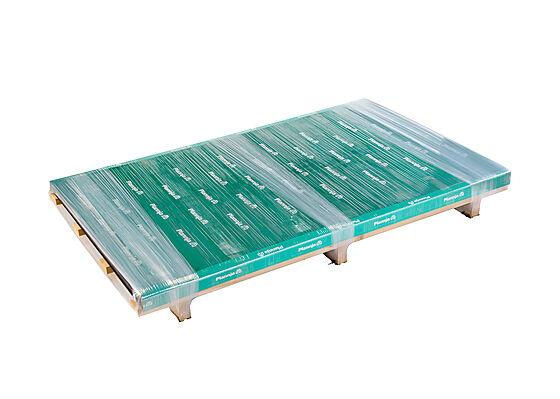 Beslagsplate glossy svart 2,0 meter plan plate
