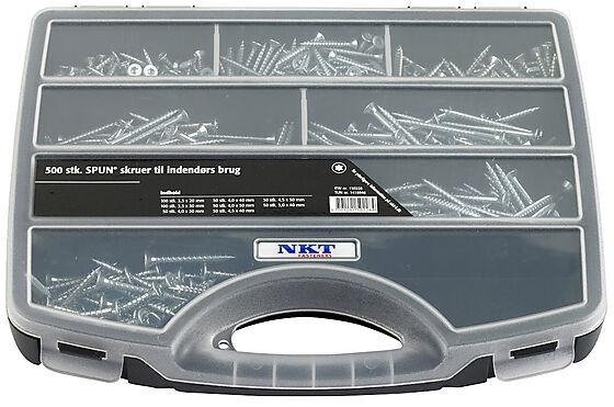 NKT sortimentskoffert spun+ innendørs