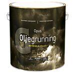 Oljegrunning eksteriør hvit 2,7 liter