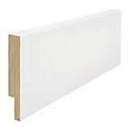 Utforing dørsett hvit furu 18 x 120 x 4400 mm S 0502-Y