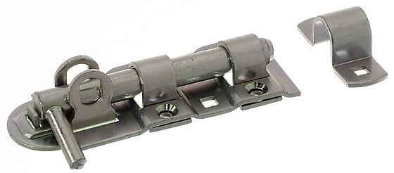 Skåte bolt låsbar 132 mm elforzinket
