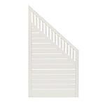Levegg Lillesand 90x180/90 cm hvitmalt