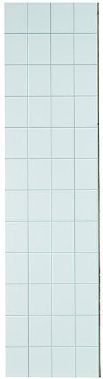 Baderomsplate 3091-F08 denver white høyglans flis 15x20 cm 11x620x2400 mm