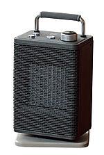 Vifteovn keramisk 2000 watt grå