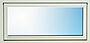Topphengslet vindu 1,4 119x59 cm med ventil