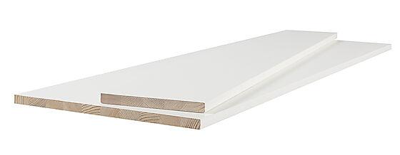 Hobbyplate  hvitmalt furu 18x200x2400 mm
